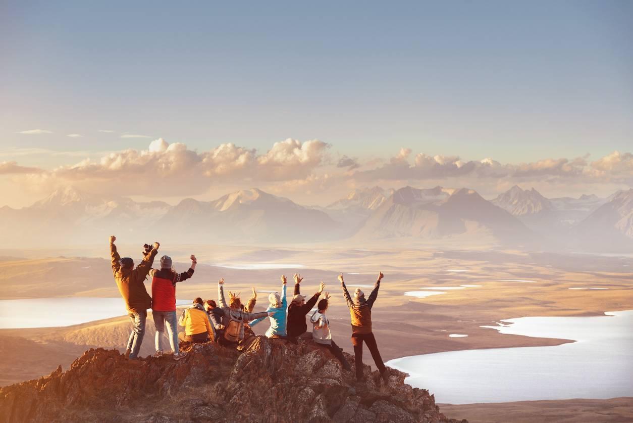 un team building en montagne