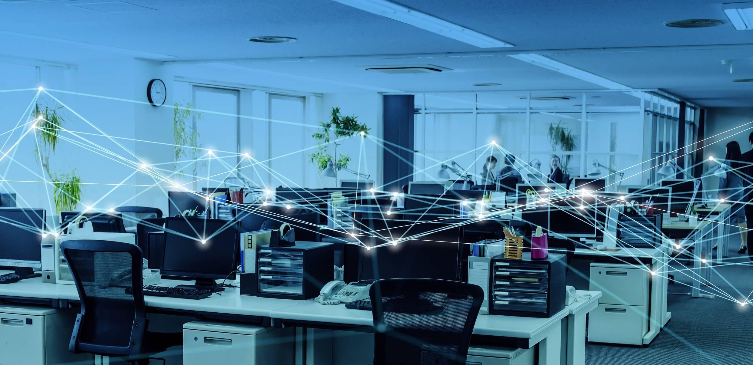 internet en wifi dans l'entreprise